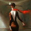 The Art Lover, Oil on Canvas 36x36