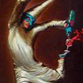 Balance,  Oil on Canvas 16x20
