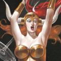 "Wine series: Brunhilde, Oil on Canvas, 24""x36"""