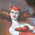 """Wine series: Devilish, Oil on Canvas, 24""""x36"""""""